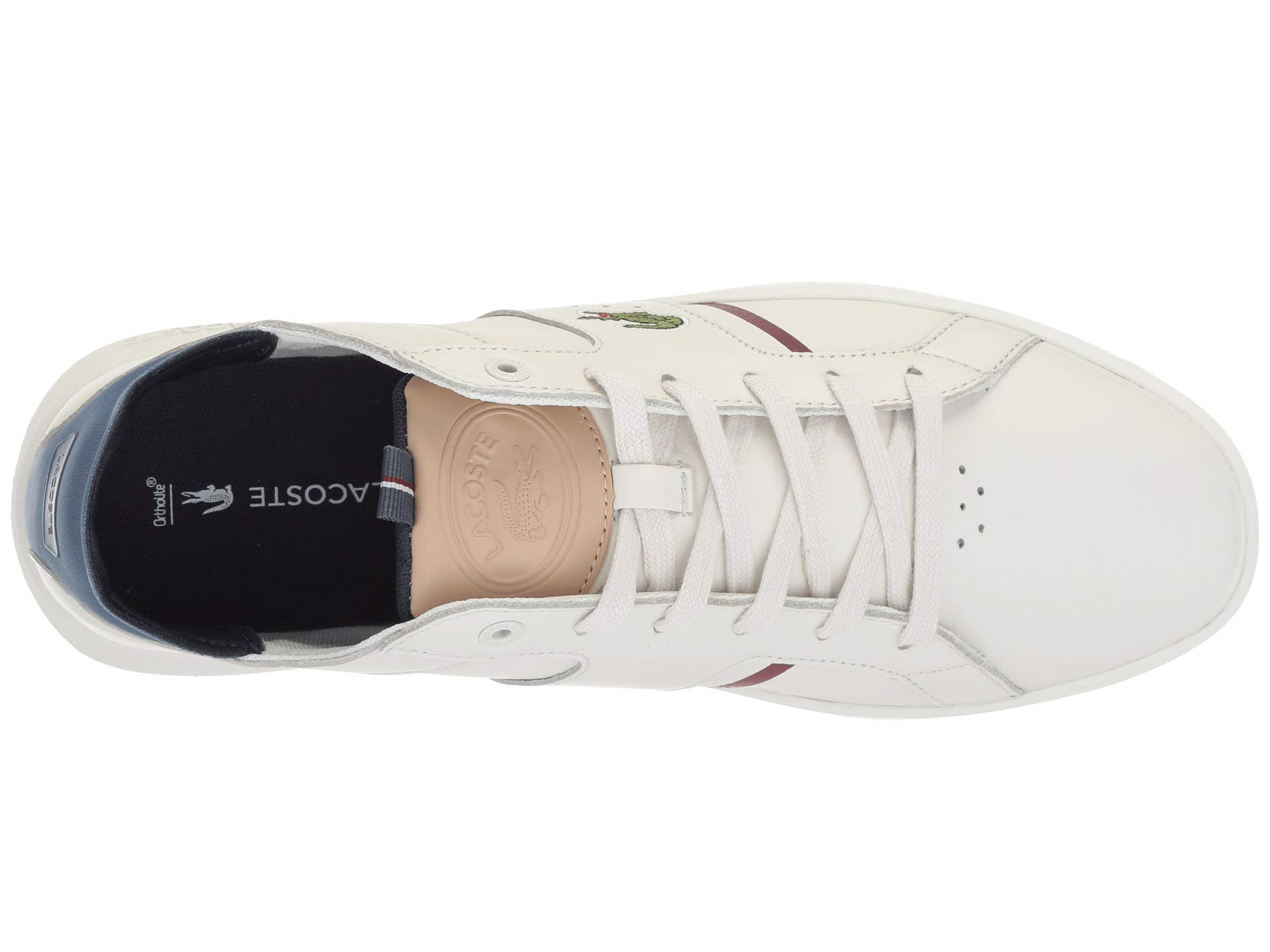 white natural Novas Lacoste 1 418 Off WTFx1qIR