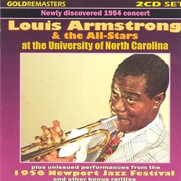 Live At The University Of North Carolina & 1956 Newport Jazz Festival