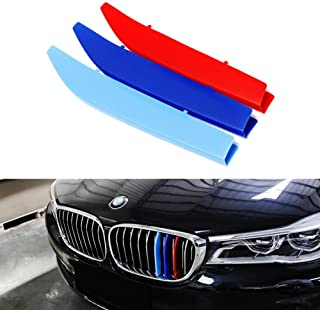 lanyun M Colors(red Blue Light Blue) Grille Insert Trims Decorate for 2016-2018 BMW G11 G12 7 Series 9-Beam Standard Grill