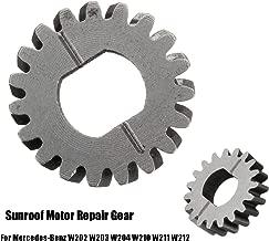 19 Teeth Car Window Lift System Sunroof Motor Repair Gear Cog for Mercedes-Benz W202 W203 W204 W210 W211 W212 1993-2016