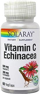 Solaray Solaray Vitamin C Echinacea | 500Mg C & 300Mg Equinácea | 60 Vegcaps 200 g