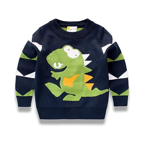 1ac73a362e42 Kids Dinosaur Sweaters  Amazon.co.uk