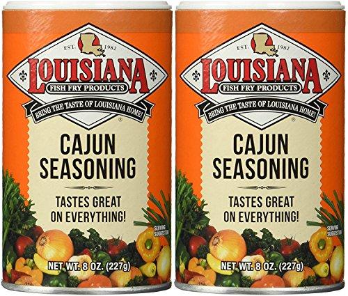 Louisiana Fish Fry Cajun Seasoning 8 Oz (2 Pack)