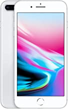 Apple iPhone 8 Plus (64GB, Silver) [Locked] + Carrier Subscription