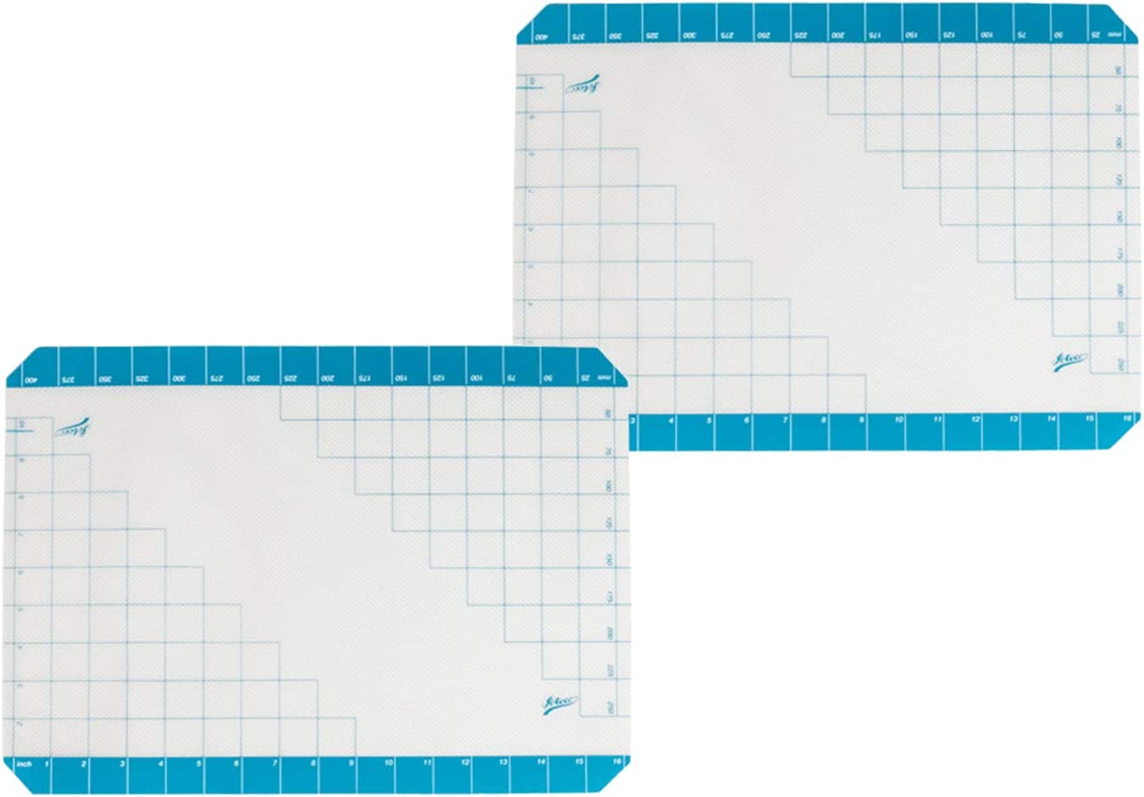 Ateco Sale 695 Half-Size Non-Stick Limited price sale Silicone Mat Work with Grid Baking