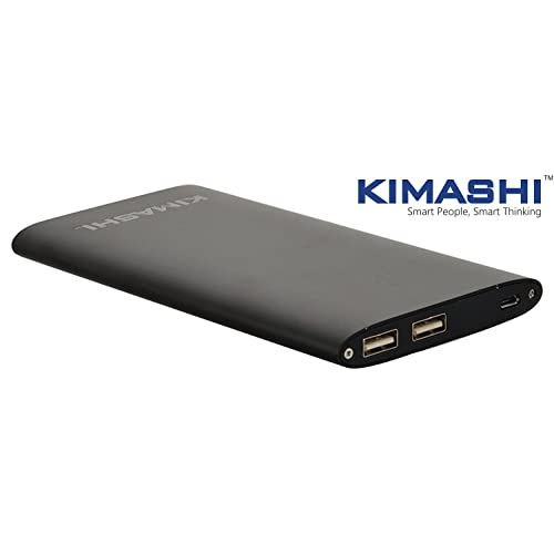 Kimashi CH-PB-110 10000mAH Lithium Polymer Power Bank (Silver)