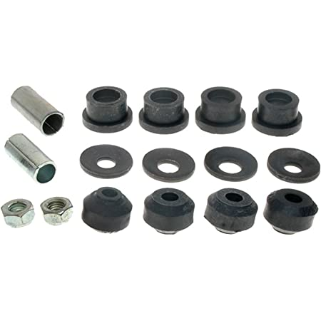 ACDelco 46G0026A Advantage Front Suspension Stabilizer Bar Link Kit with Hardware