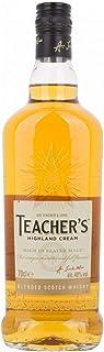 """Teacher""""s HIGHLAND CREAM Blended Scotch Whisky 40,00% 0,70 Liter"""