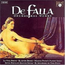 Orchestral Works by Manuel De Falla: (2004-07-27)