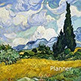 The Art of Life - Wheat Field by Van Gogh Lifedesign Large Weekly DotGrid Undated Planner