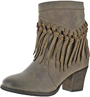 Sbicca Kathrin Women's Round Toe Synthetic Boot