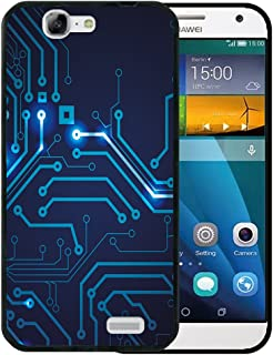 bede246ae97 WoowCase Funda para Huawei Ascend G7, [Huawei Ascend G7 ] Silicona Gel  Flexible Circuito