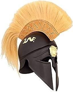 Royal Corinthian Greek Helmet - One Size - Black Armour