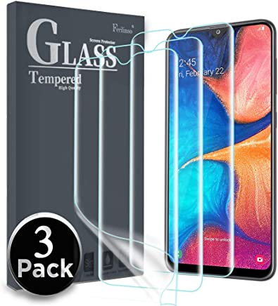 Ferilinso Pellicola Protettiva per Samsung Galaxy A20e / Huawei y5 2019 / Honor 8S,[3 Pack] [Non Vetro temperato] Pellicola di TPU Flessibile in Pet 3D con Copertura Completa ad Alta sensibilità