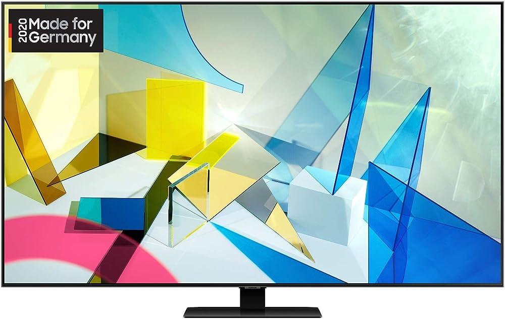 Samsung qled, smart tv 55 pollici 4k ultra hd smart tv wi-fi 3840 x 2160 pixel GQ65Q80TGTXZG