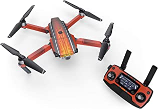 Hot Rod Decal for Drone DJI Mavic Pro Kit - Includes Drone Skin, Controller Skin and 3 Battery Skins