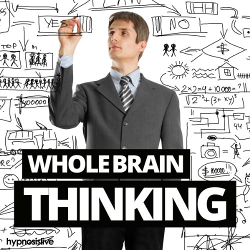 Whole Brain Thinking Hypnosis audiobook cover art