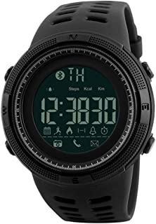 SKMEI Outdoor Waterproof Pedometer Calories Clocks Digital Sports Bluetooth Watch