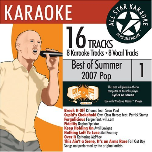 ASK-81003 Pop Karaoke Summer 2007 Vol.1; Gym Class Heroes, Avril Lavigne and Katharine McPhee by Various (2007-05-23)