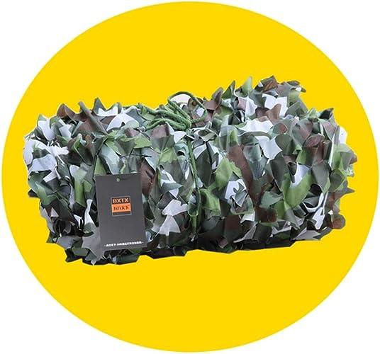 QIANGDA Filet De Camouflage Filet pour Parasol Filet Camo Tissu Oxford Chasse Cacher De Tir Armée De Camping Cacher 1M-10M (Taille   5x8m)