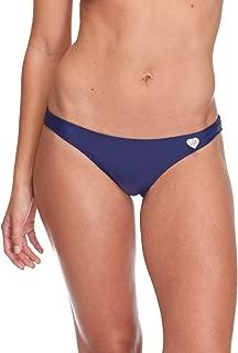 Body Glove Women's Smoothies Basic Solid Fuller Coverage Bikini Bottom Swimsuit