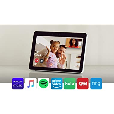 """Echo Show -- Premium 10.1"""" HD smart display with Alexa – stay connected with video calling - Sandstone"""