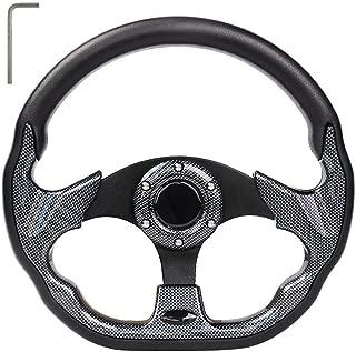 LEAPGO Golf Cart Steering Wheel or Adapter for Golf Cart Club Car DS and Club Car Precedent EZGO Yamaha