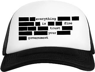 Rundi Everything Is Fine, Trust Your Government Gorra De Béisbol Unisex Baseball Ball Cap