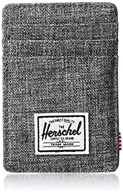 Herschel Men's Raven RFID Wallet, Crosshatch, One Size
