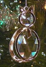 Stained Glass Jewel Ornament Sun Catcher, Cat