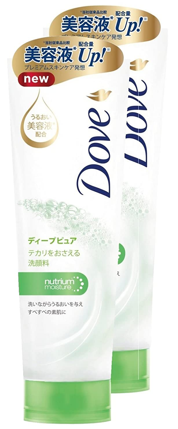 財政アメリカしっかり【まとめ買い】 ダウ゛ ディープピュア 洗顔料 130g×2個