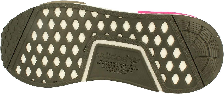 adidas NMD_r1 PK, Scarpe da Fitness Uomo Utility Green Pink Bz0222
