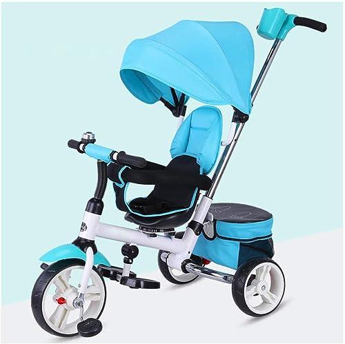 de moda Hejok Niños Trike, Triciclo para Niños Triciclo Mi Primer Primer Primer Paseo Triciclos Niños pequeños Niños Que Viajan con Pedal Bocina De Bicicleta Al Aire Libre 3 En 1  venta con descuento