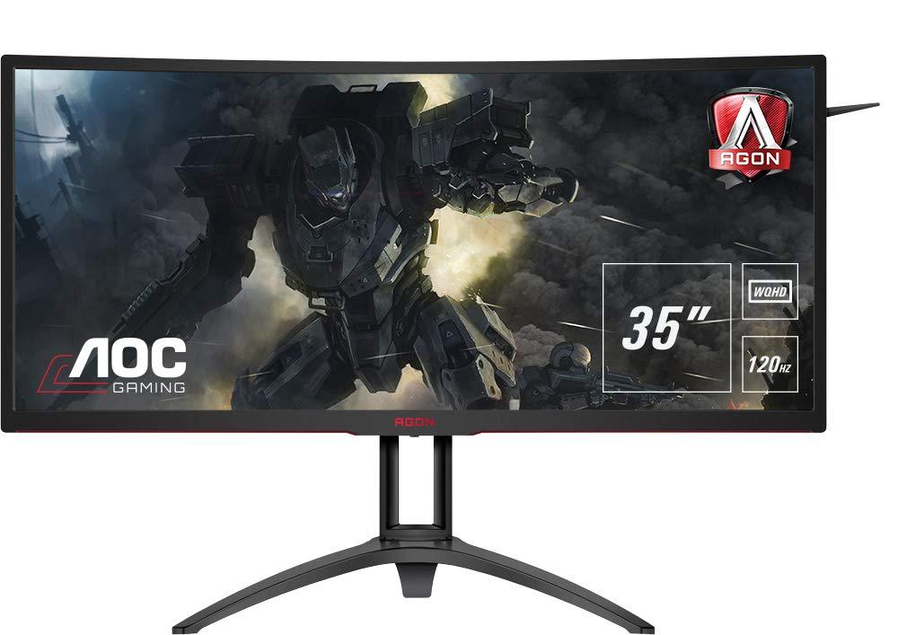 AOC Agon AG352UCG6 - Monitor curvo gaming de 35
