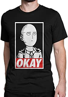 Okay. One punch man - Saitama T-Shirt