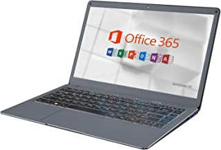 【Microsoft Office 365 搭載】Jumperノートパソコン13.3インチ 6GB 64GB / Windows 10 / Celeron / USB3.0 / デュアルバンドWIFI , サポート128GB MicroSDの1TB SSD拡張
