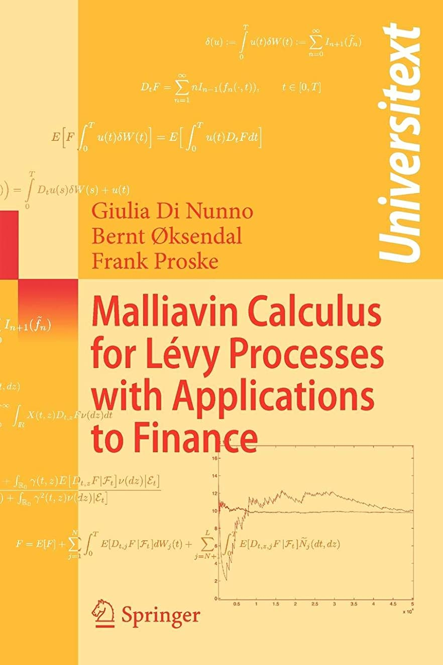 壁紙作業ずっとMalliavin Calculus for Levy Processes with Applications to Finance (Universitext)