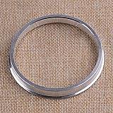 XICION. 4 Pezzi in Lega di Alluminio mozzo Ruota Centric Anelli Spigot Spacer Gamma 73.1OD for 66.6ID