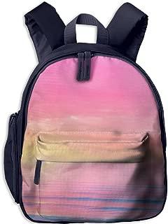 Pinta Setting Sun Cub Cool School Book Bag Backpacks for Girl's Boy's