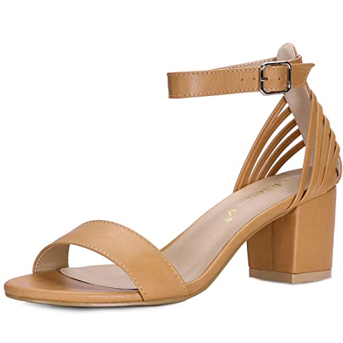 e5ab48d7274 Allegra K Women s Multi Straps Ankle Strap Sandals