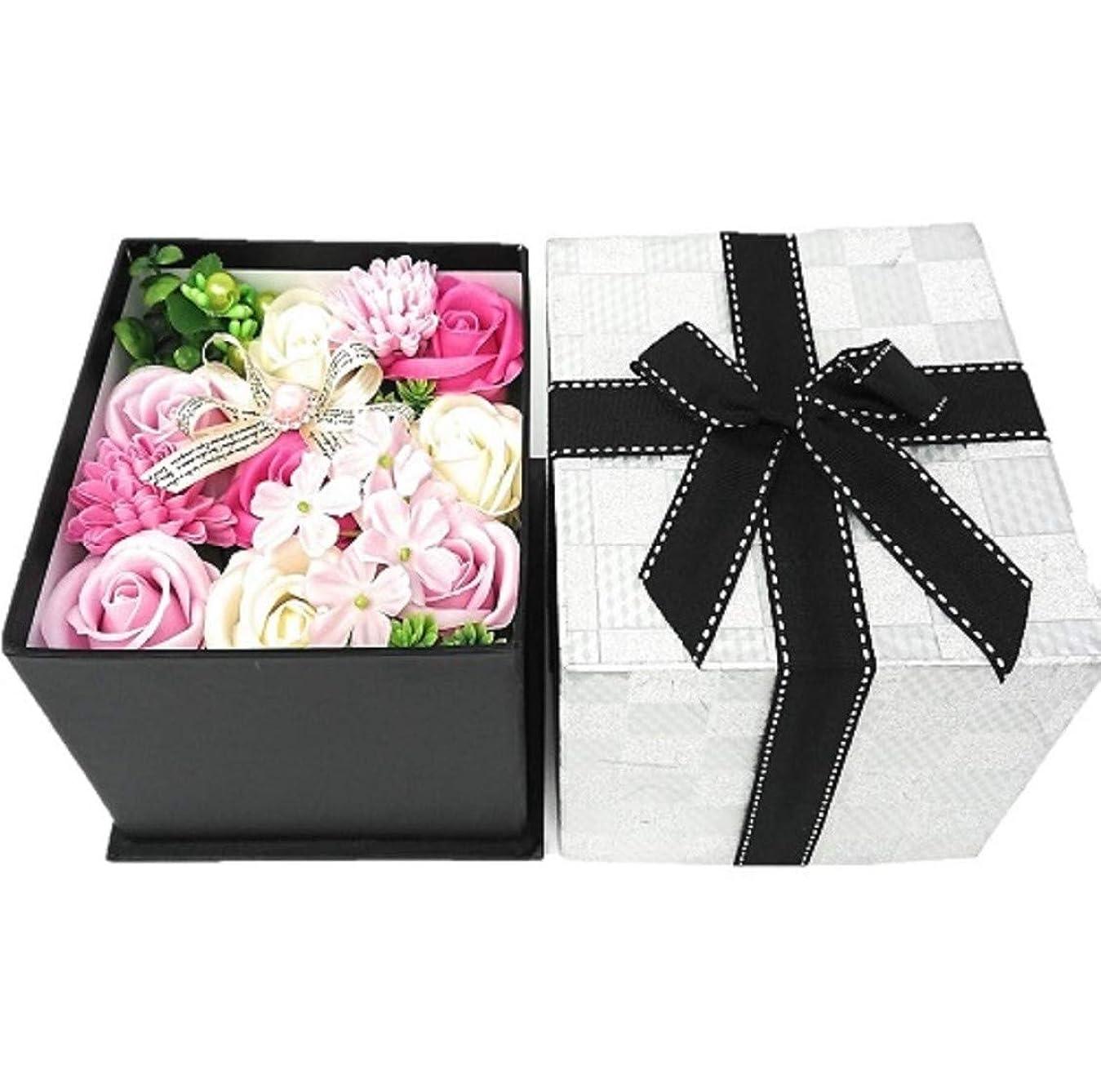 中絶肯定的士気クルール バスフレグランス バスフラワー BOX L ピンク 入浴剤 ギフト