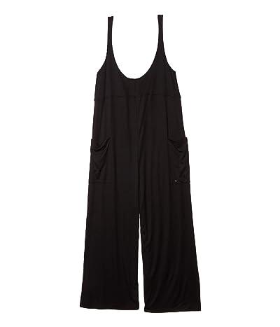 Hurley Sandy Rib Jumpsuit (Black 1) Women