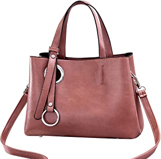 Fanspack Women Top Handle Bag Fashion Multipurpose Tote Handbag Crossbody Bag for Travel
