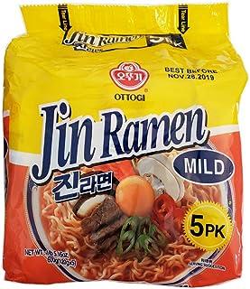 Ottogi Jin Ramen Mild 5 Packs