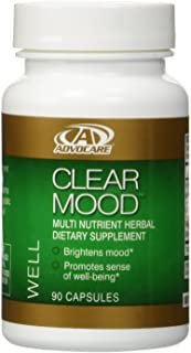 Advocare clear Mood Multinutrient Dietary Supplement 90 Capsules