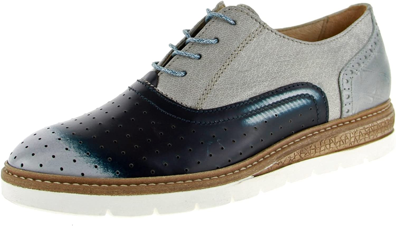 Mjus Women Lace-Up shoes bluee, (blue-Kombi) 206108-0101-0003