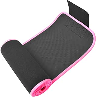 GALOOK Waist Trimmer Belt,  Sweat Belt Trainer Slimming Belt Body Shaping Belt Adjustable for Men/Women,  Waist Trainer for Weight Loss,  Perfect for Training Gym Fitness