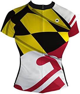 Hill Killer 'Pride of Maryland' Women's Cycling Jersey