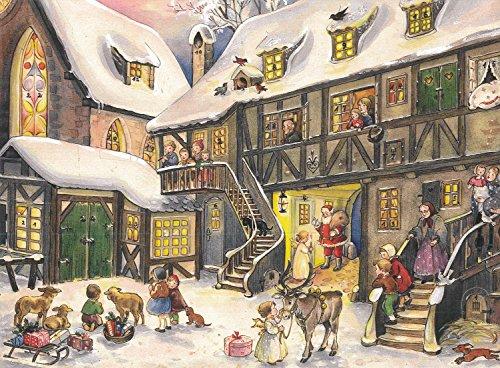 Adventskalender A5 - Weihnachten Innenstadt