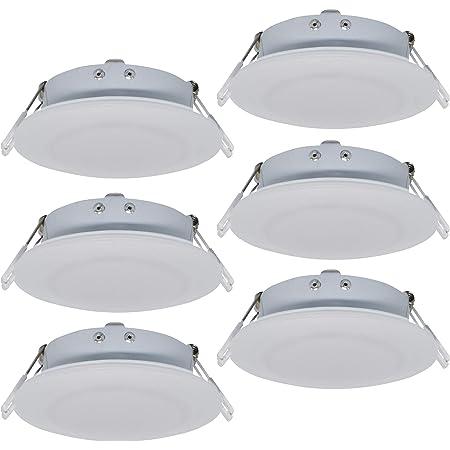 "4.5/"" Led 480 Lumen Recessed Interior Ceiling Lights For RVs Boats 12V 10pk"
